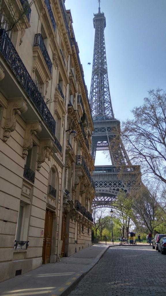 Дом у Эйфелевой башни, Париж