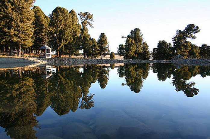 Семинский перевал, озеро
