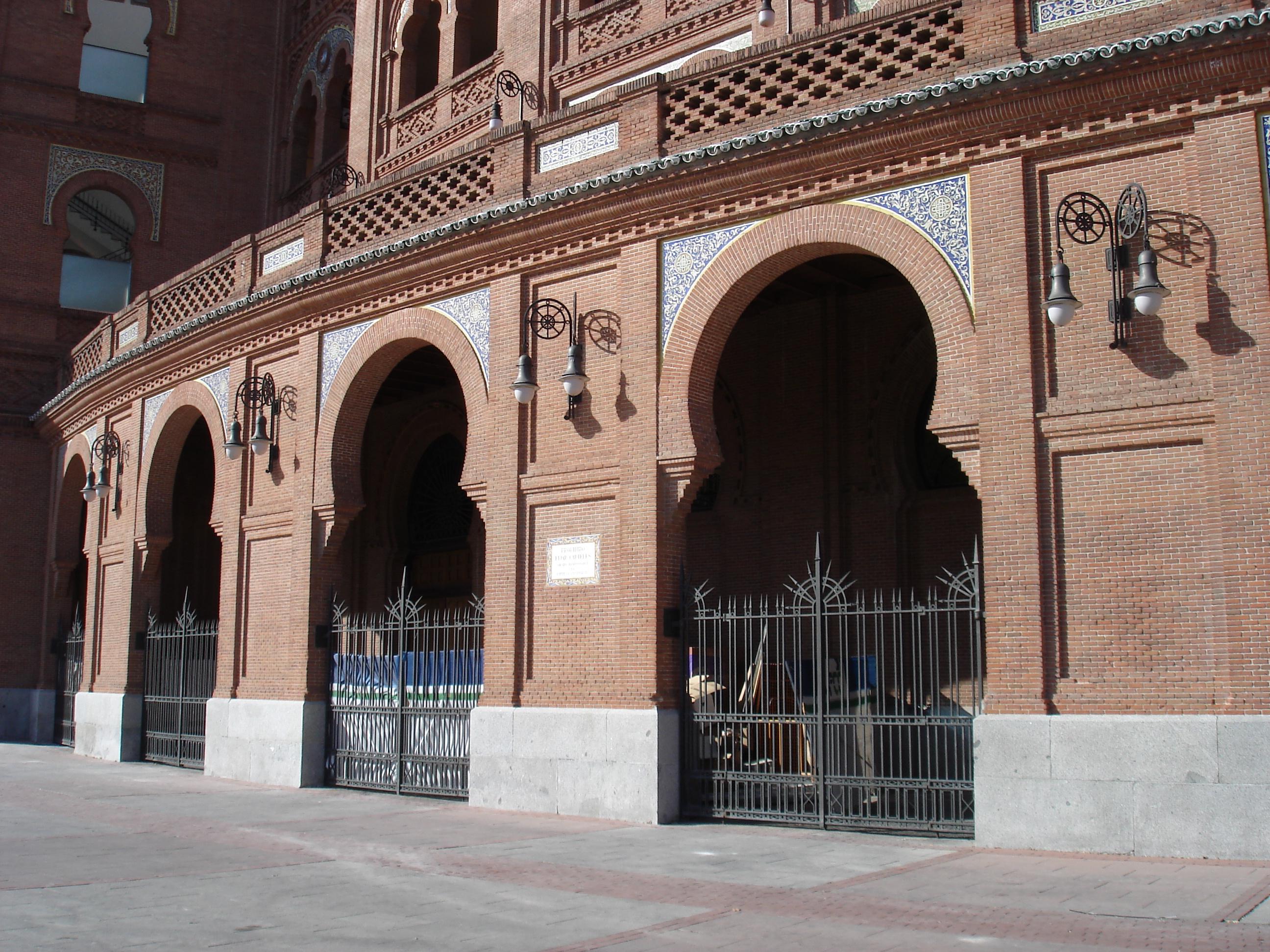 Арена Лас-Вентас, у входа