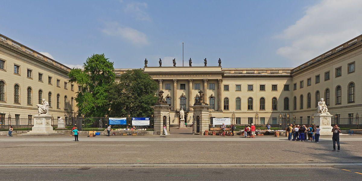 Главное здание Берлинского Университета
