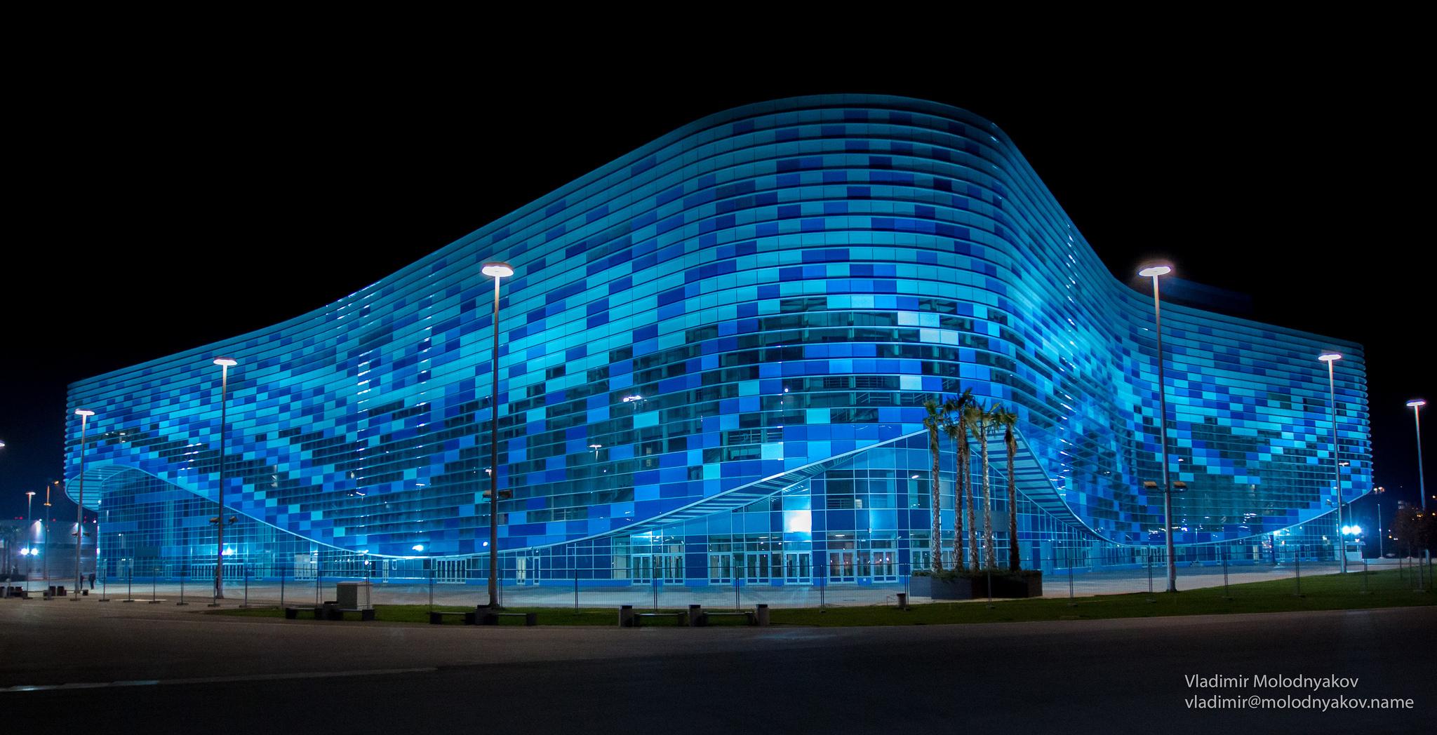 Дворец зимнего спорта «Айсберг», Олимпийский парк Сочи