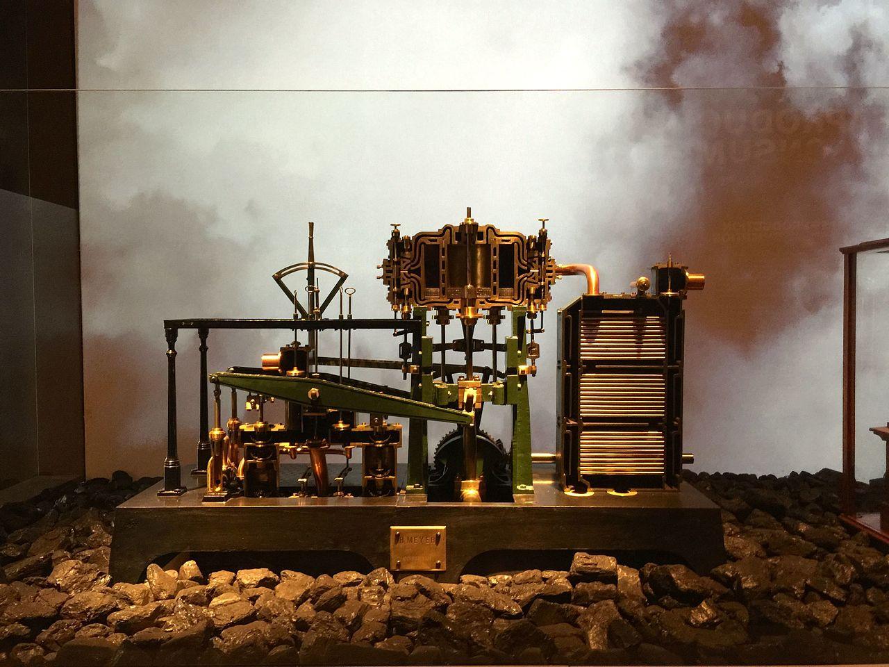 Исторический музей Амстердама, судовой паровой двигатель
