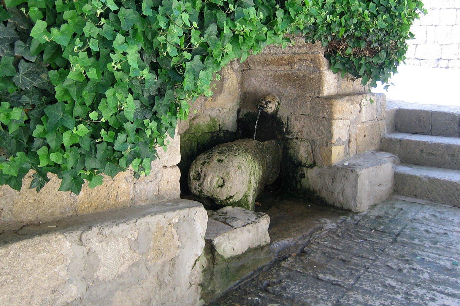 Источник в крепости Нарын-Кала
