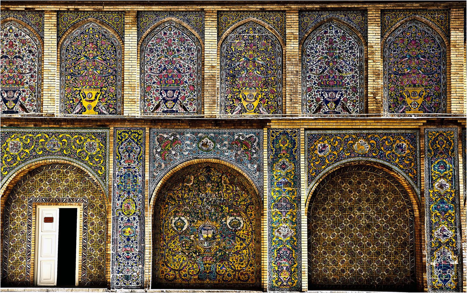 Крепостная стена, дворец Голестан, Тегеран