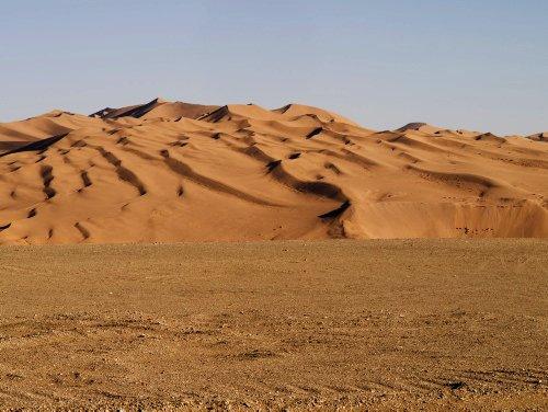 Пейзаж пустыни Гоби, Монголия