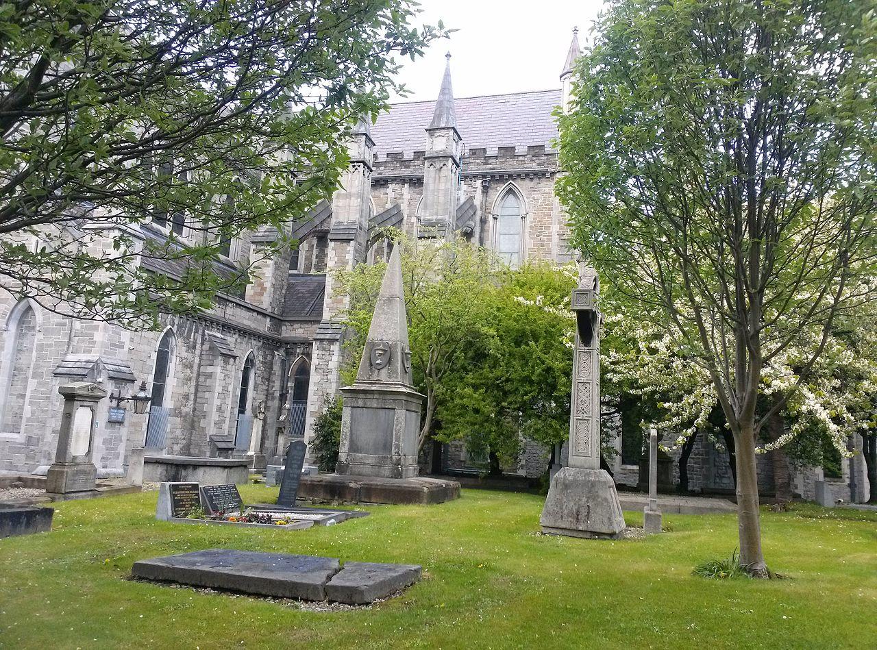 Собор Святого Патрика в Дублине, двор