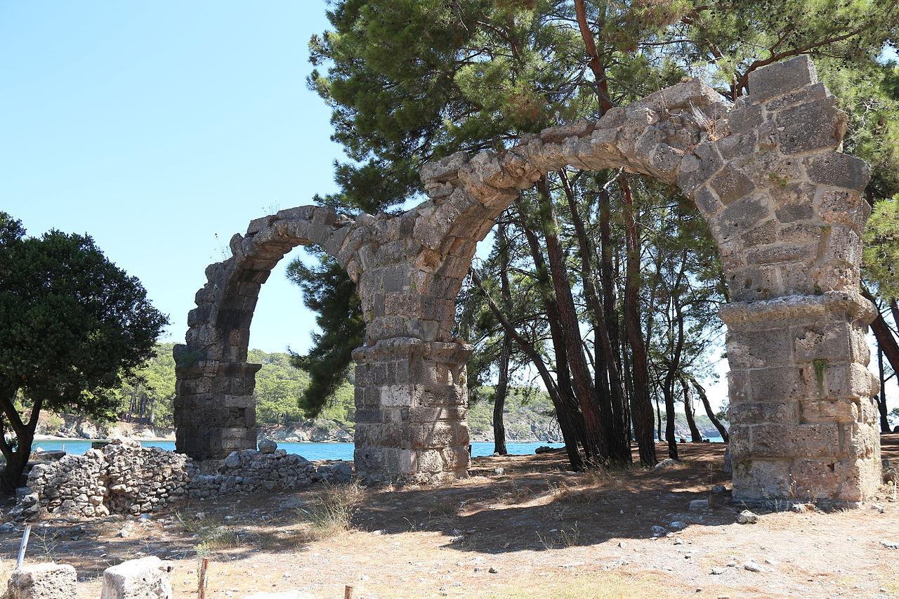 Фаселис, акведук