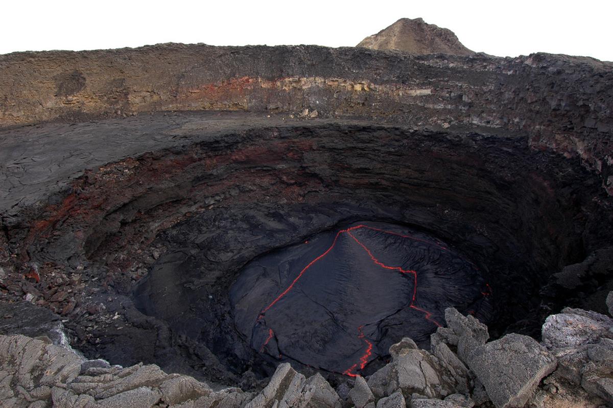 Эрта Але в Эфиопии