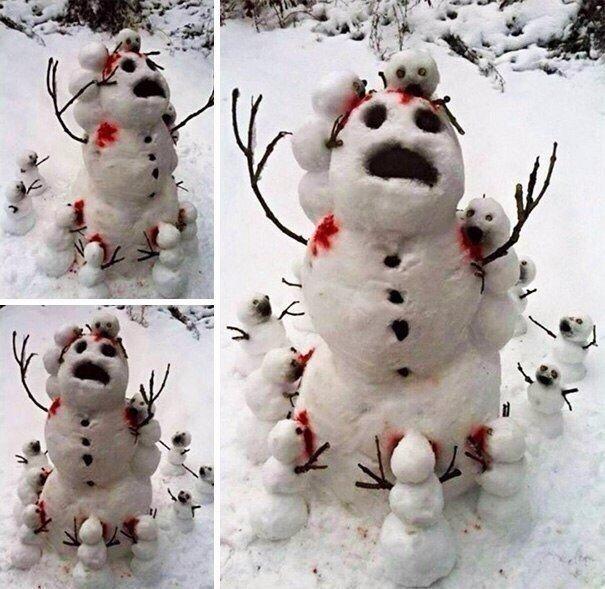 20 креативных снеговиков K.jpg