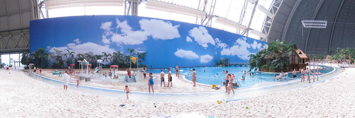 Tropical Island в Берлине