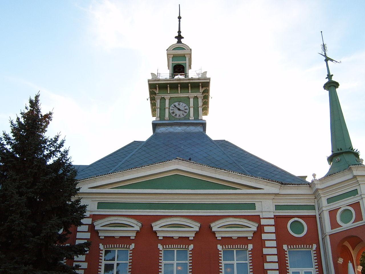 Азовский музей-заповедник, часовая башня