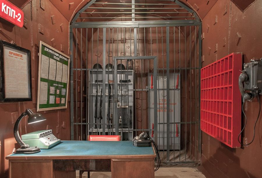 В залах Музея Бункер-42 на Таганке