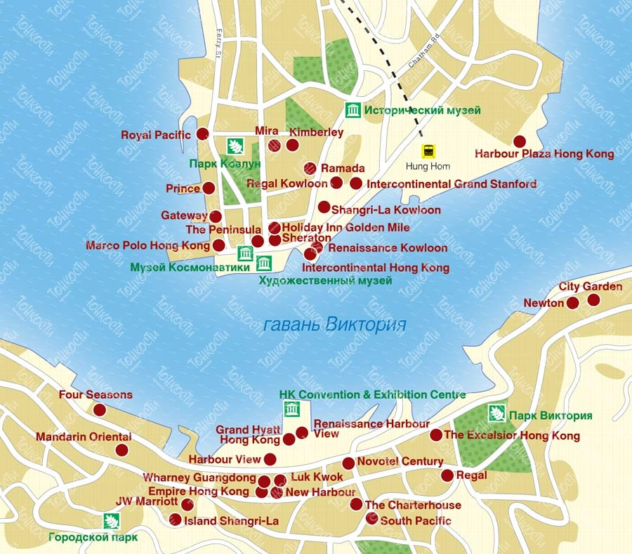 Где находится на карте гонконг85