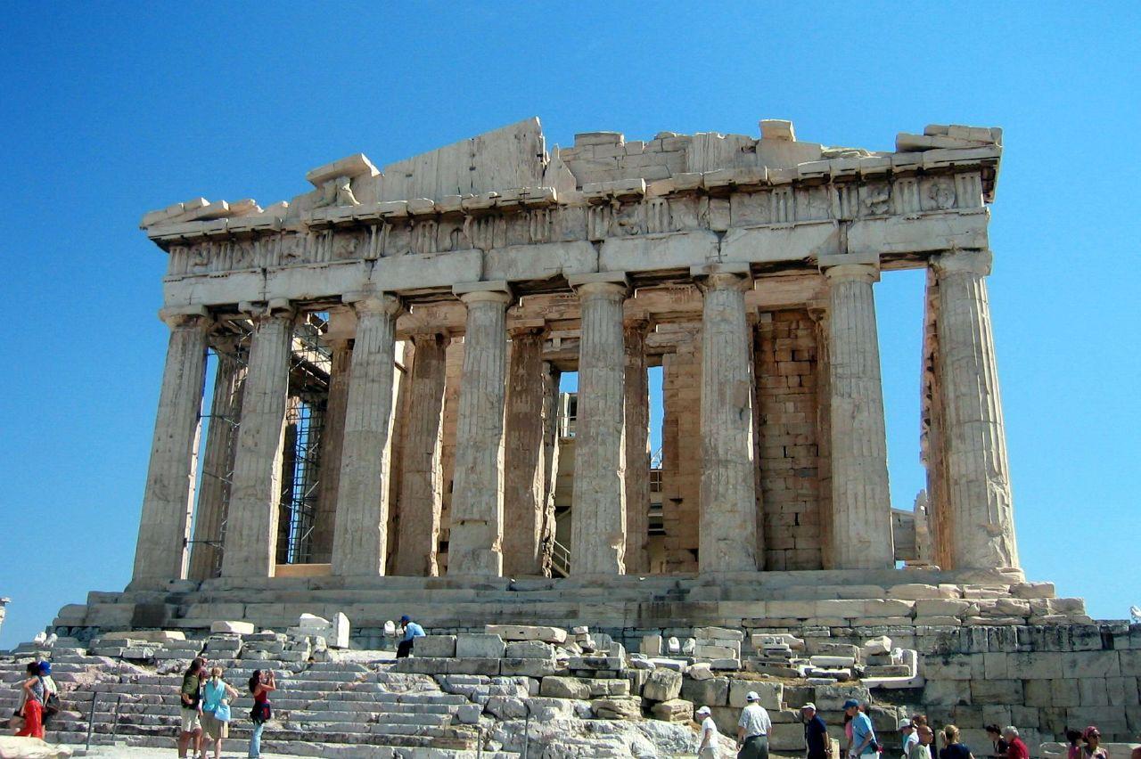 Парфенон, Афинский Акрополь