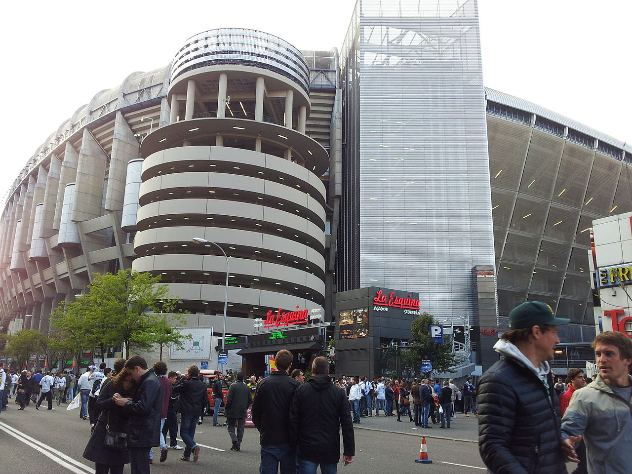 Стадион Сантьяго Бернабеу, центральный вход