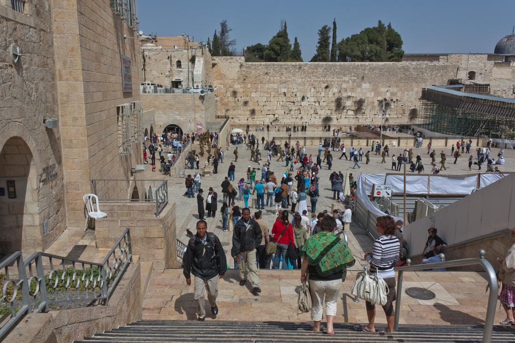 Вблизи стены Плача, Иерусалим