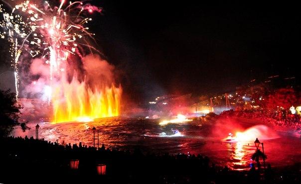 Озеро ужаса в Порт Авентуре