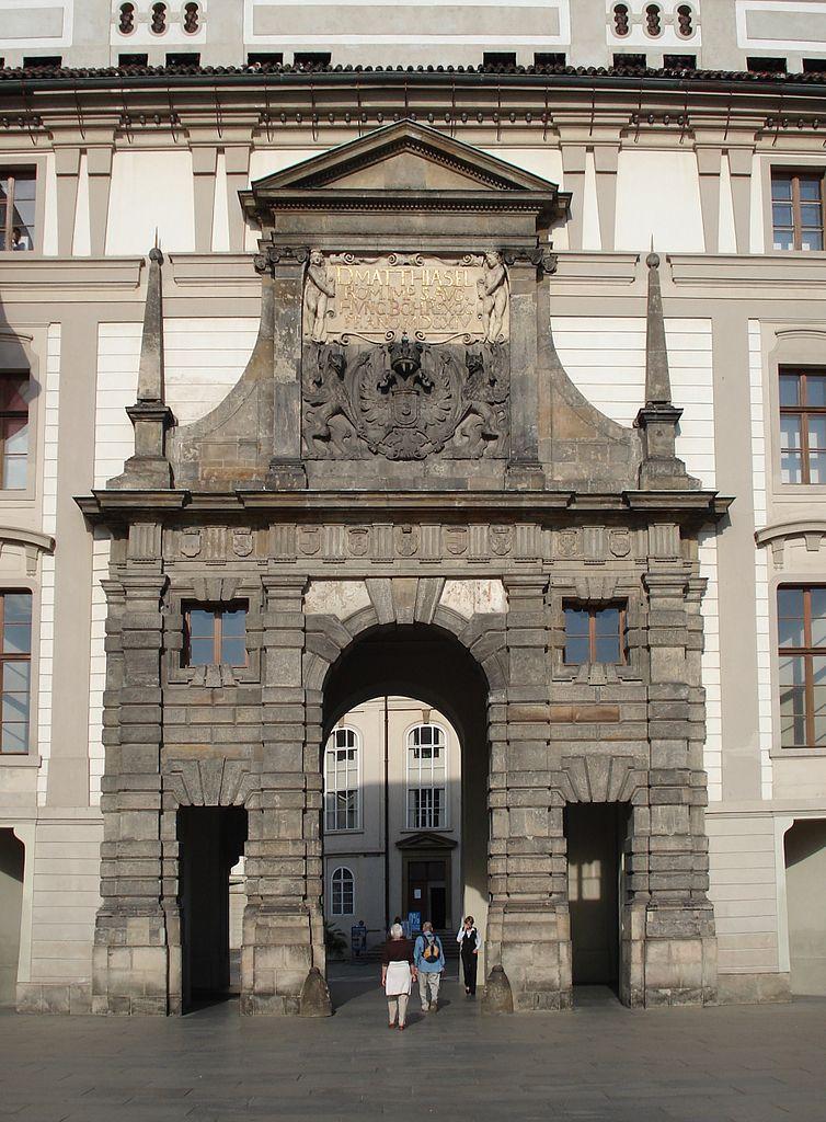 Пражский Град, ворота Матиаша