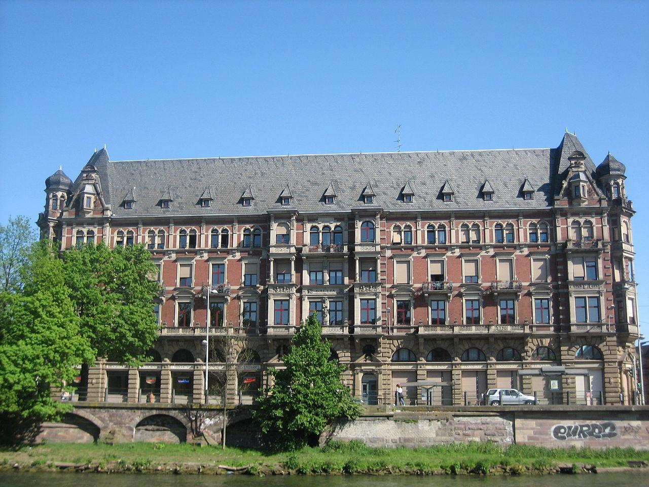 Страсбургский университет, студенческий центр