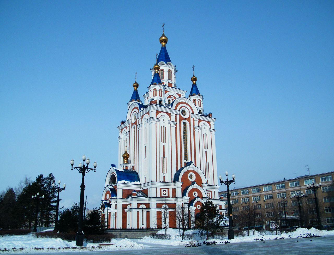 Успенский собор (современная реконструкция ), Хабаровск