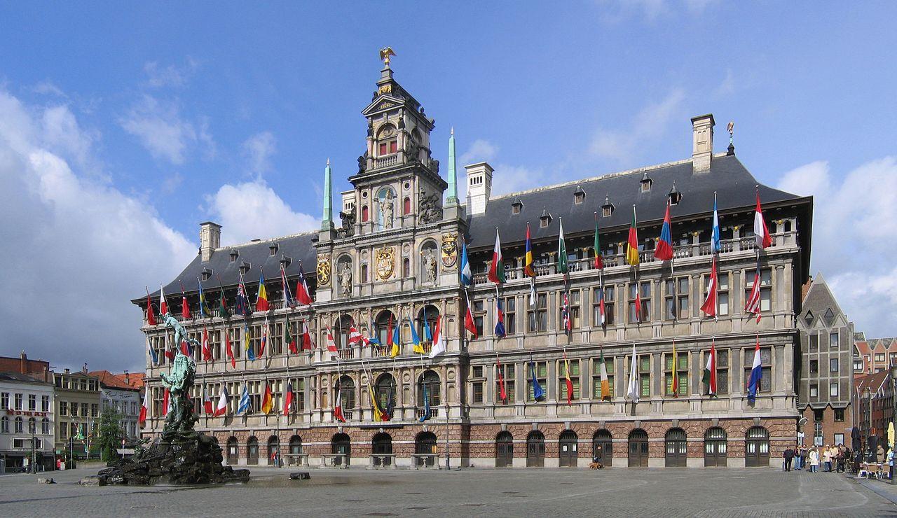 Антверпенская ратуша, Бельгия