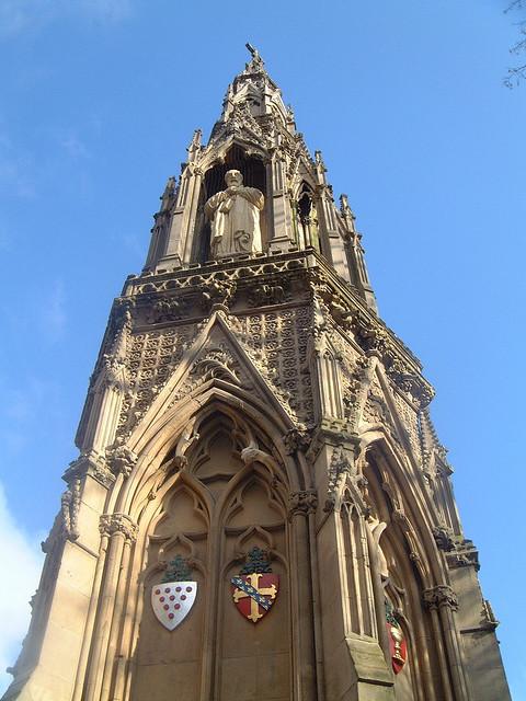Мемориал Martyrs в Оксфорде.jpg