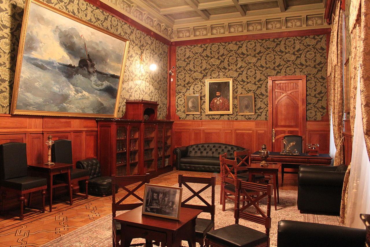 Музей искусств Азербайджана, кабинет Тагиева