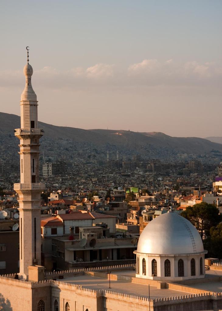 Панорама Дамаска