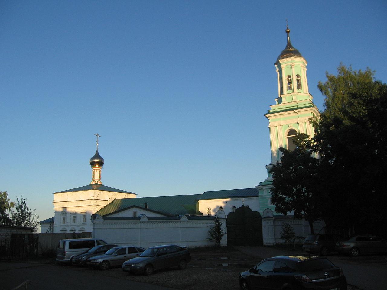 Спасо-Преображенский монастырь в Кирове