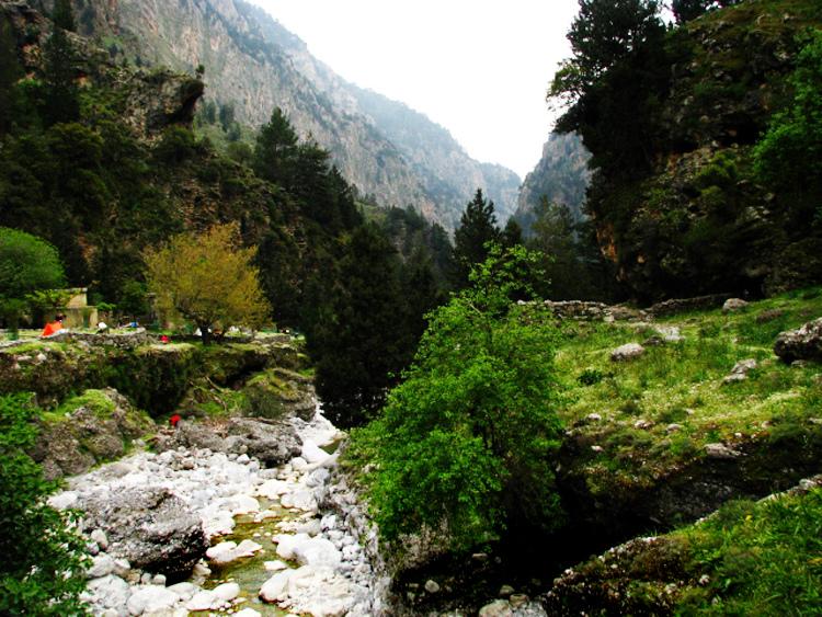 Ущелье Самария, Крит