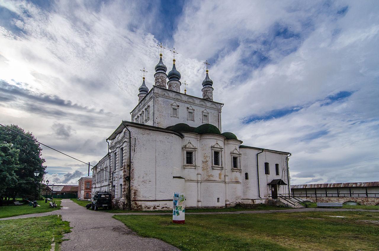 Церковь Всех Святых в Горицком Успенском монастыре