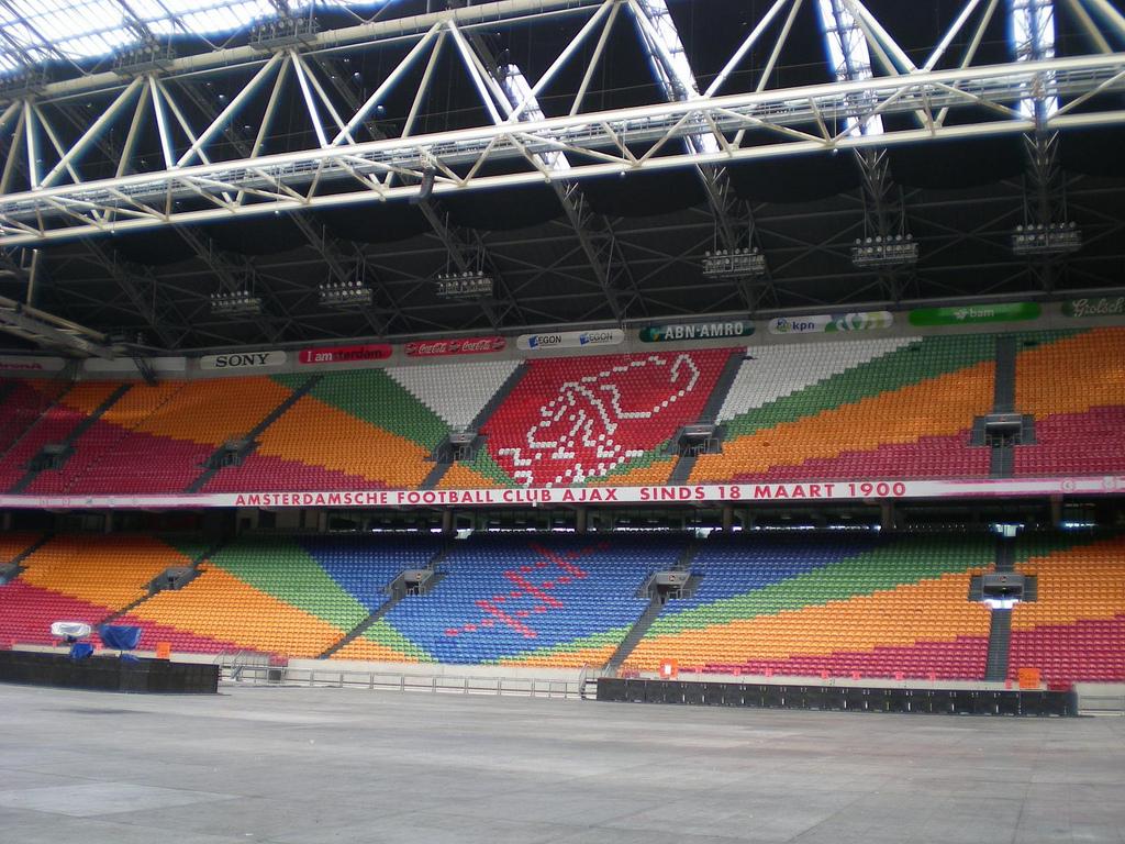 Амстердам Арена, трибуны