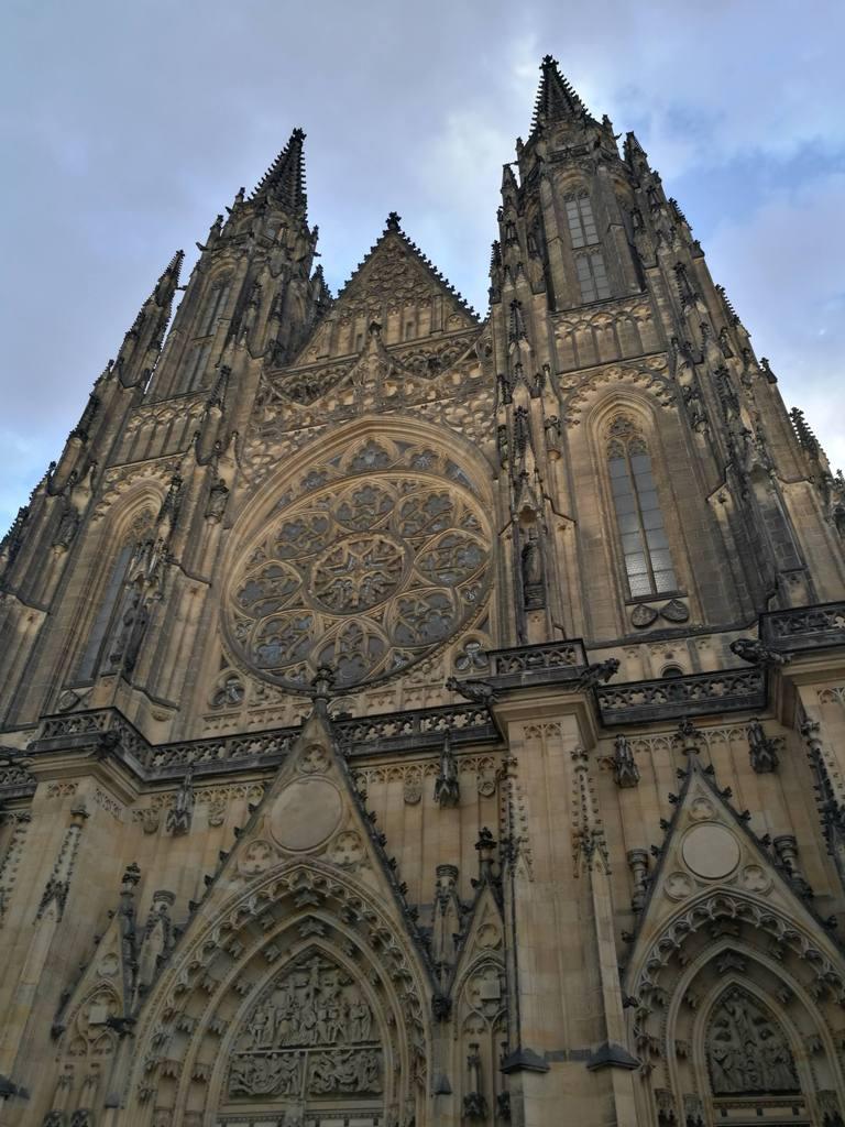 Архитектура Собора Святого Вита в Праге