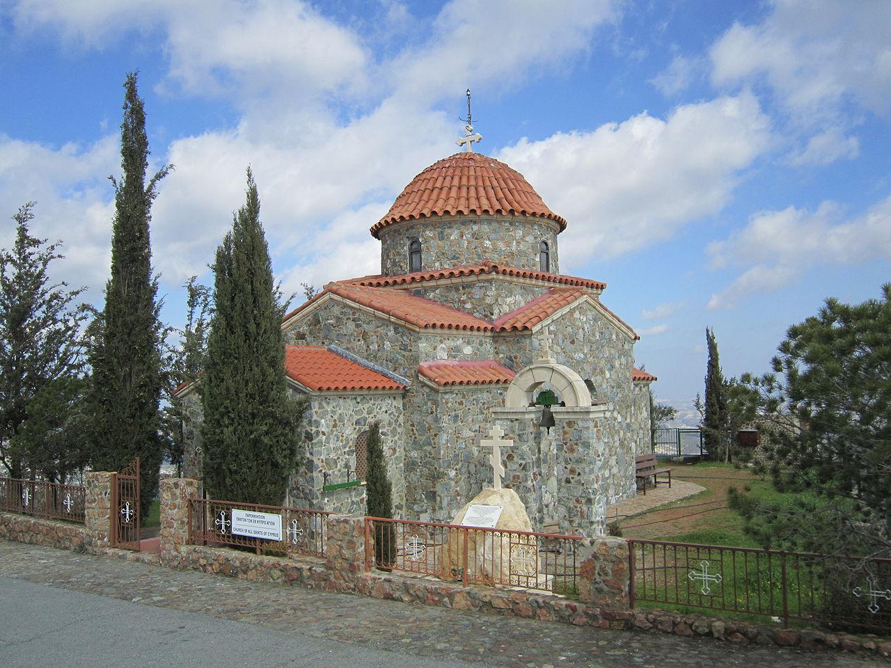 Монастырь Ставровуни, храм