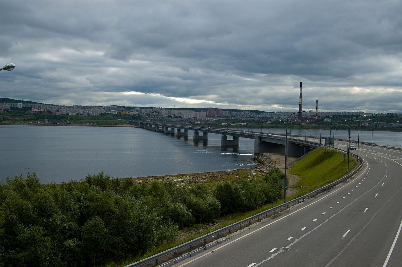 мост мурманск фото центре
