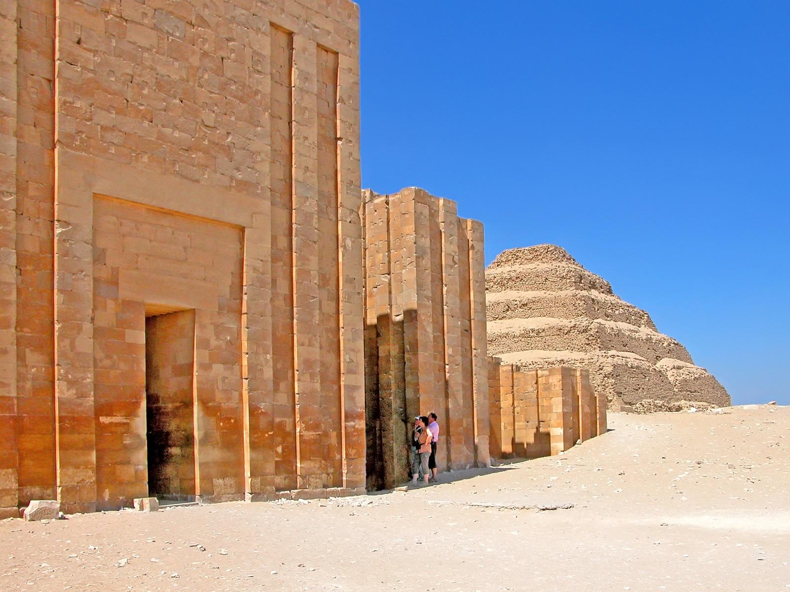 Пирамида Джосера, Саккара