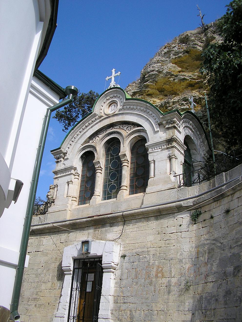 Балаклавский Свято-Георгиевский монастырь, пещерный храм Рождества Христова