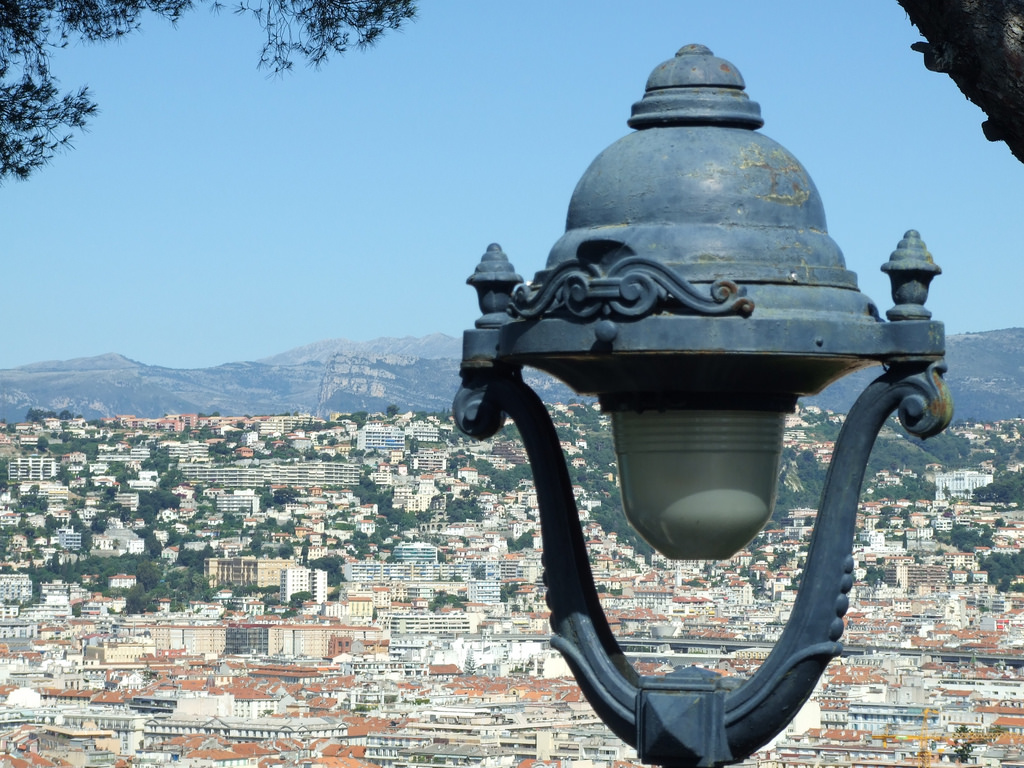 Вид на город, Замковая гора, Ницца