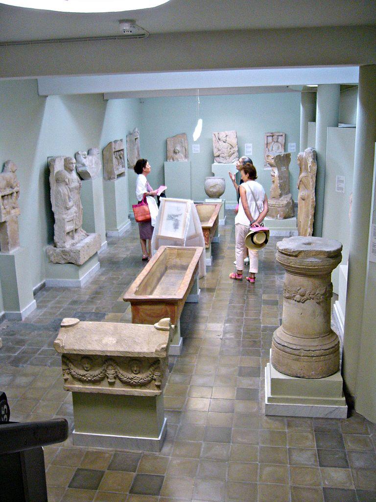 Кипрский археологический музей, один из залов