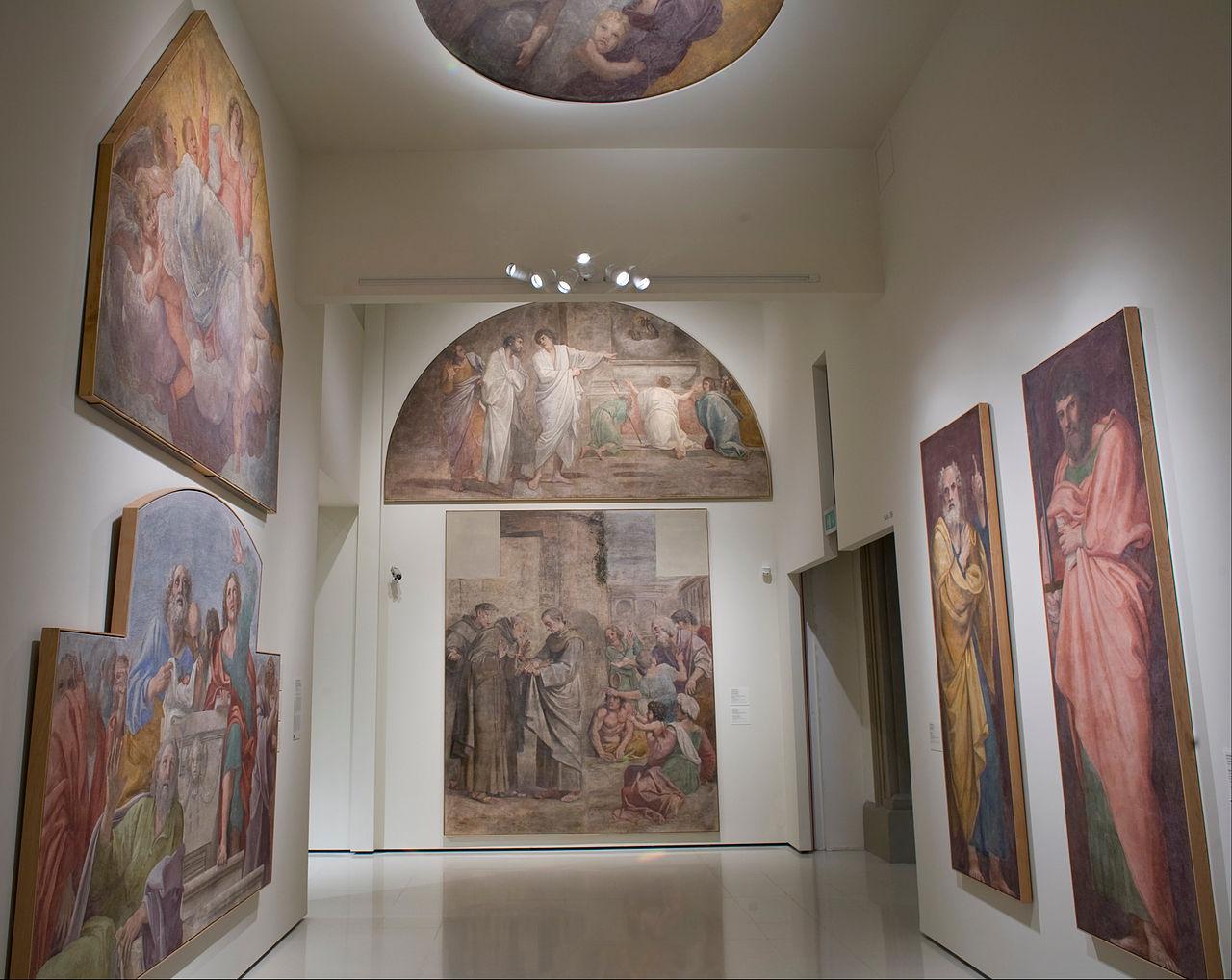 Национальный музей искусства Каталонии, один из залов