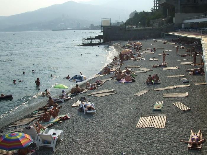 На пляже для детей 14