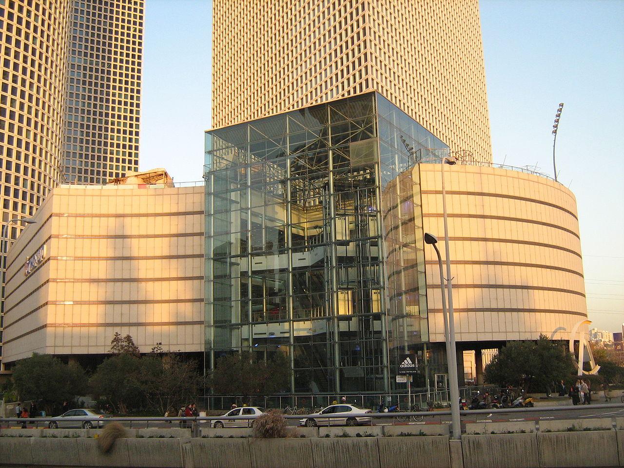 Центр Азриэли, торговый центр