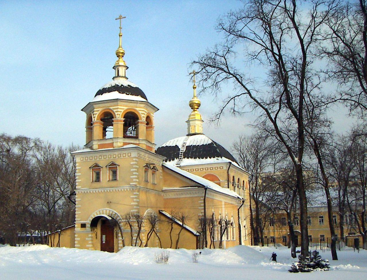 Церковь Воздвижения Креста Господня на Преображенском кладбище Преображенской старообрядческой общины
