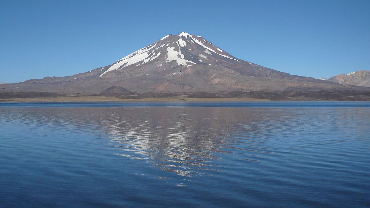 Вулкан Майпо, Чили