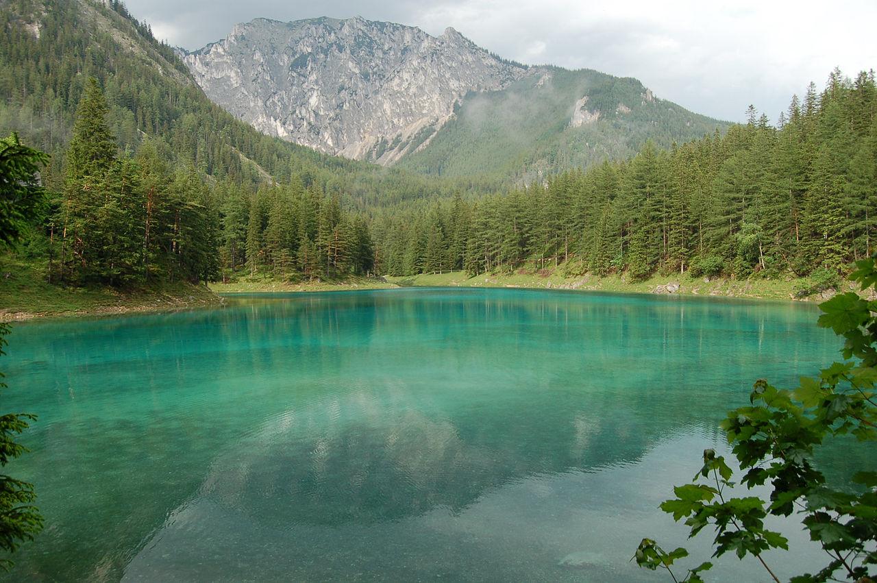 Грюнер-Зе, Зеленое озеро в Австрии