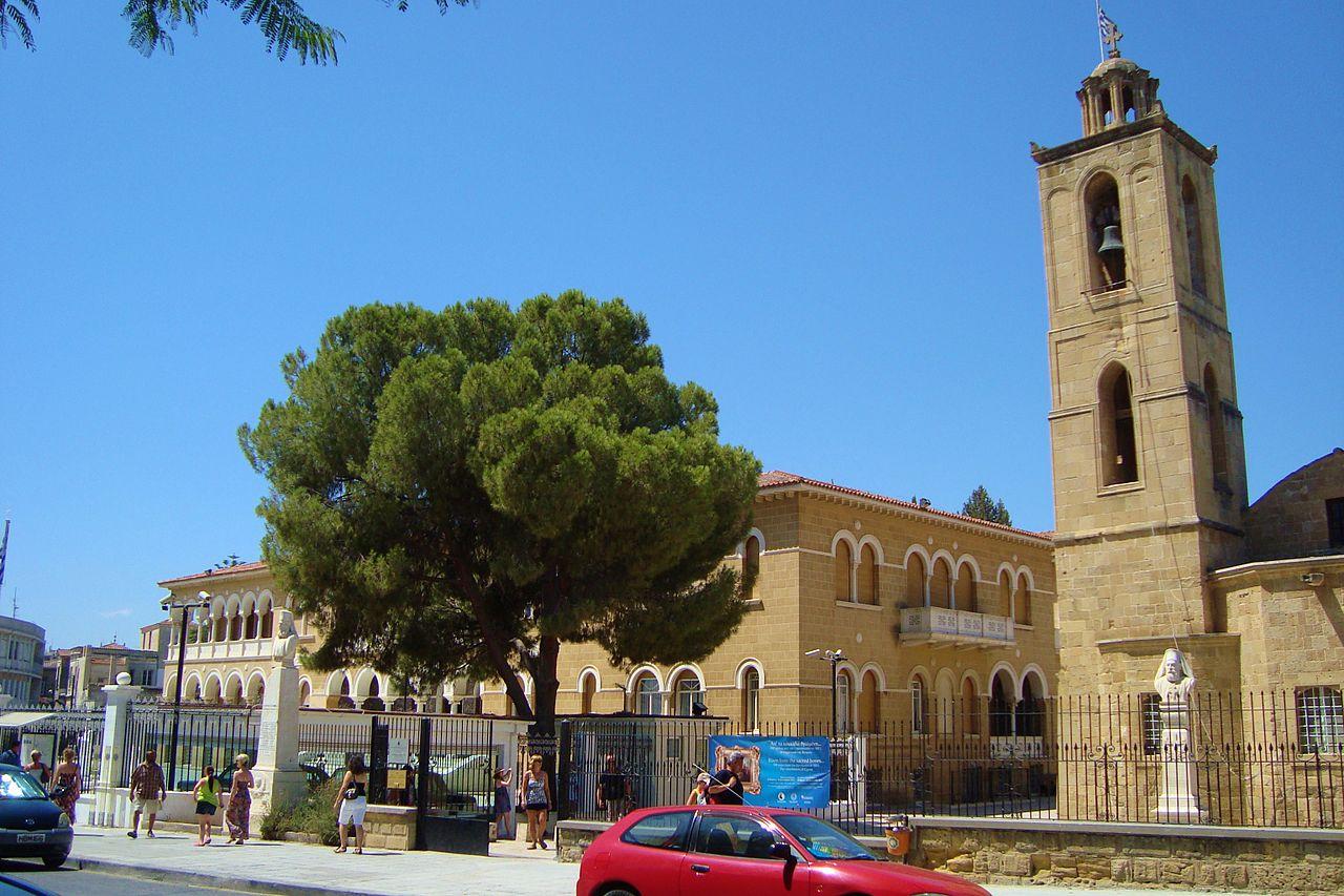 Дворец Архиепископа и церковь Сент-Джон в Никосии