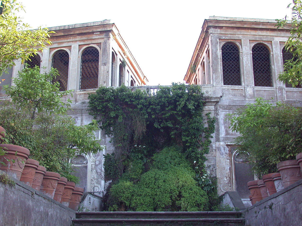 Палатин, Фарнезские сады