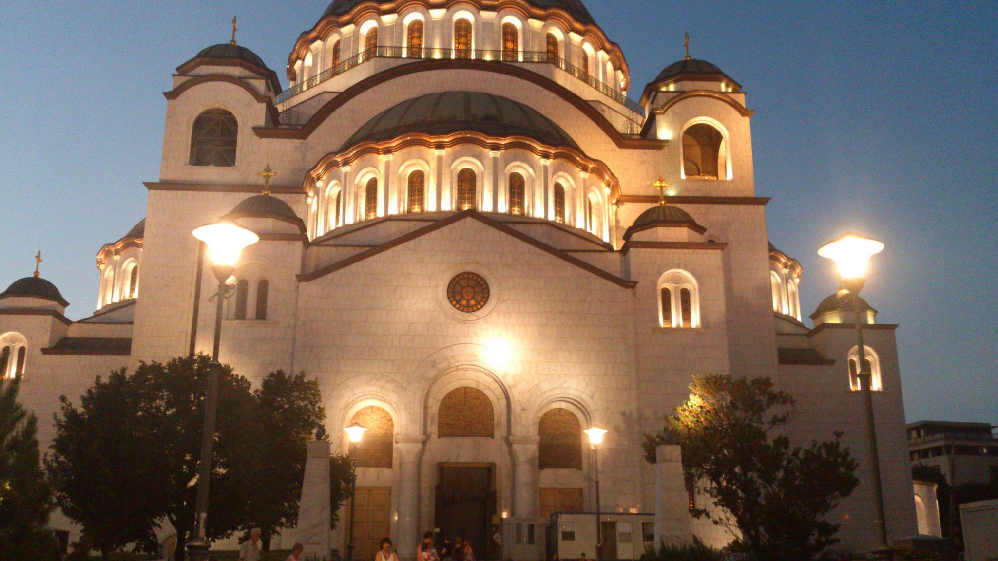 Храм Святого Саввы Белград Сербия