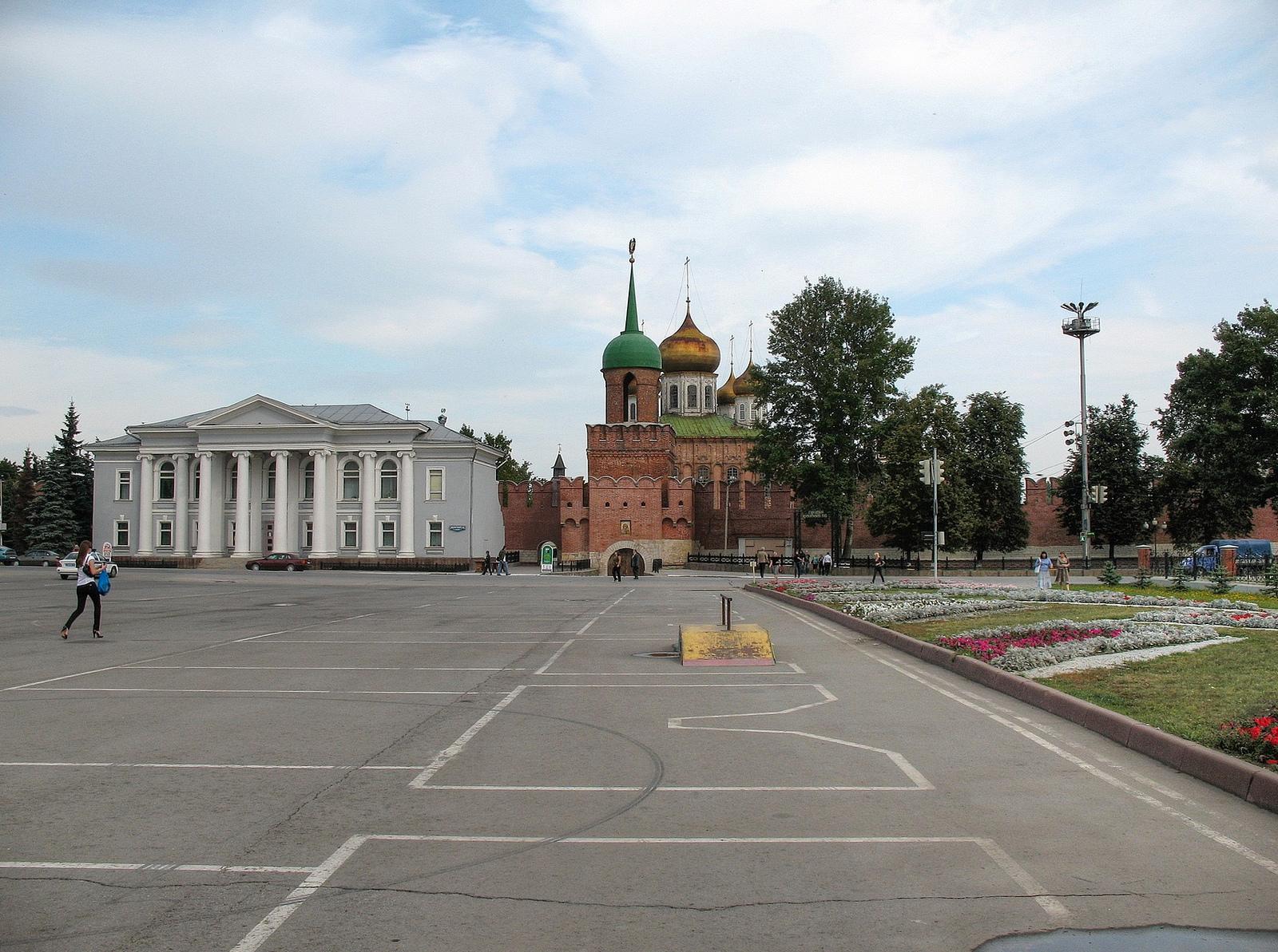 Вид на Тульский кремль, Тула