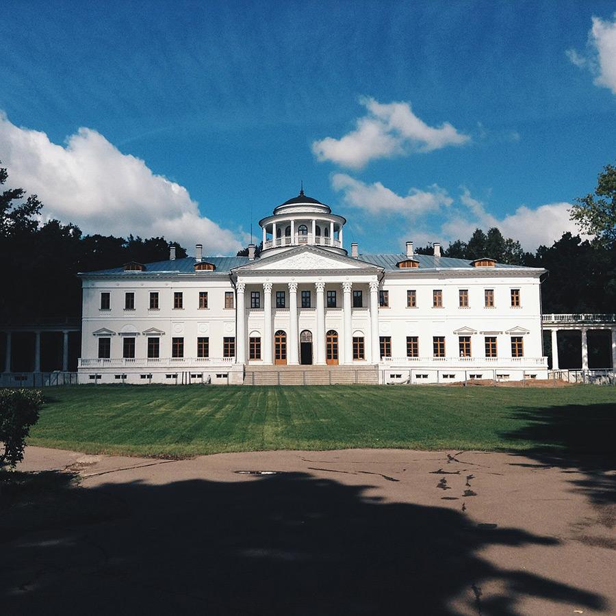 Музей-усадьба Остафьево. Главный дом